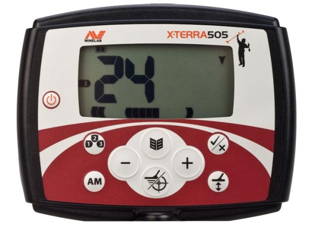 X-TERRA-505-Metal-Detector-Control-Box