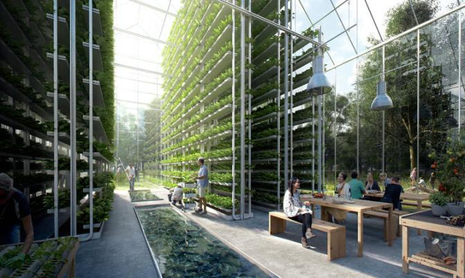 This New Neighborhood Will Grow Its Own Food, Power Itself, And Handle Its Own Waste